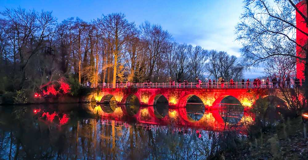 Winter glow is the new name for the Bruges Christmas experience and includes a new light trail