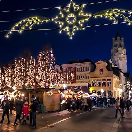 Christmas in Bruges at Simon Stevinplein