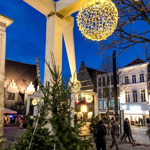 Ghent hosts a magical Belgium Christmas market