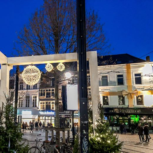 Ghent at Christmas is a wonderful experience