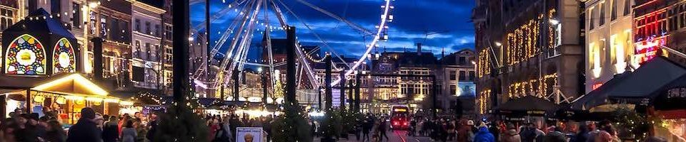 The Ghent Christmas market