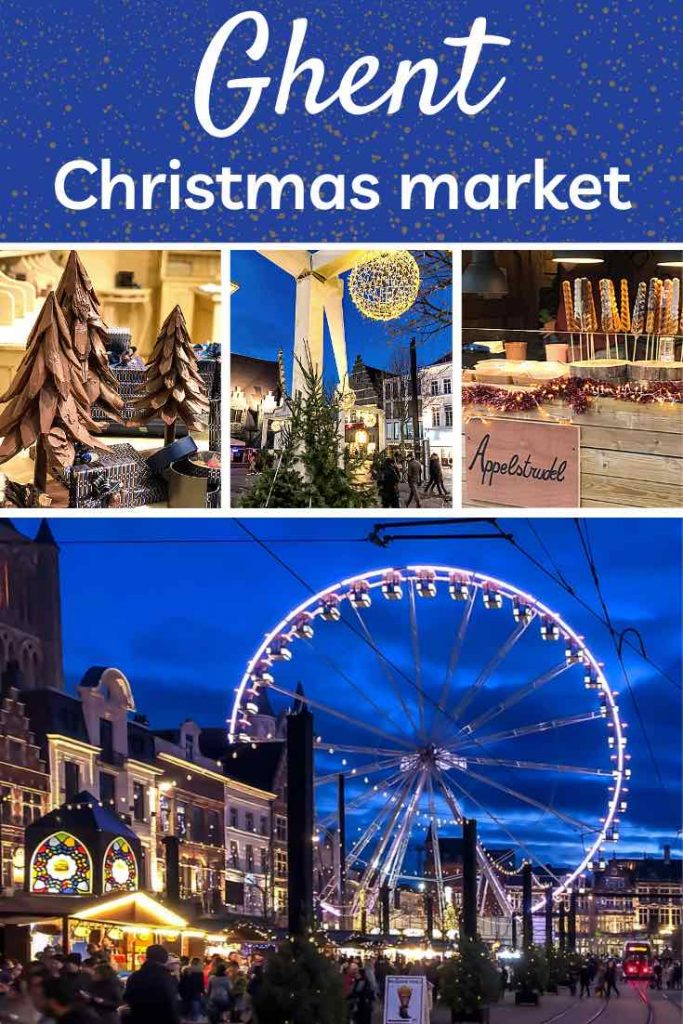 The Ghent Christmas market is one of the most magical winter experiences in Belgium. Check out this insider guide to celebrating Christmas in Ghent. | Ghent Christmas market | Belgium Christmas market | Christmas market Ghent | Christmas in Belgium | Winter escape | Christmas markets Europe | Winter travel