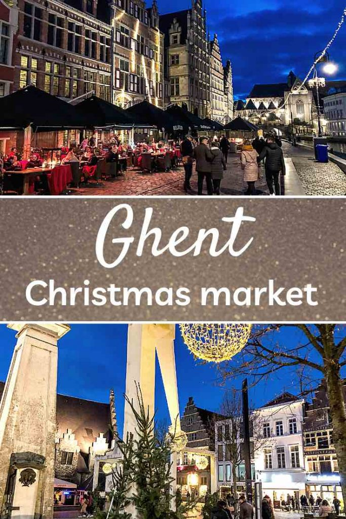 Celebrating Christmas in Ghent is one of the most cozy winter experiences in Belgium. Check out this insider guide to the Ghent Christmas market. | Ghent Christmas market | Belgium Christmas market | Christmas market Ghent | Christmas in Belgium | Winter escape | Christmas markets Europe | Winter travel
