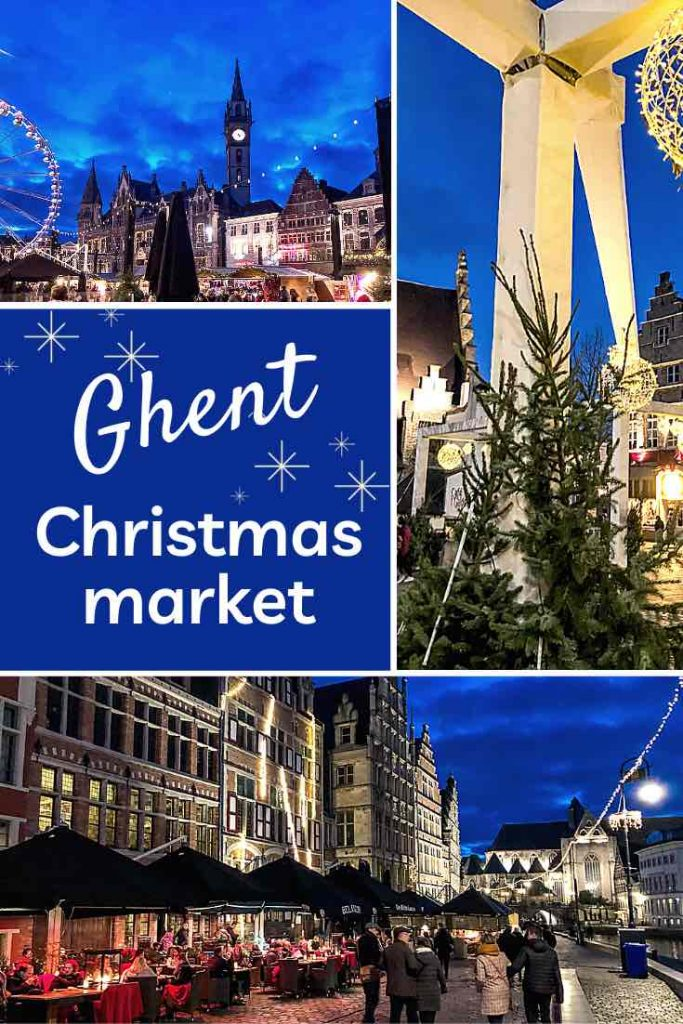 Check out this insider guide to one of the best winter experiences in Belgium: The Ghent Christmas market. Find out why it's one of the most magical Christmas markets in Europe. | Ghent Christmas market | Belgium Christmas market | Christmas market Ghent | Christmas in Belgium | Winter escape | Christmas markets Europe | Winter travel