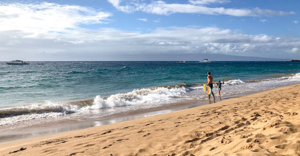 For families with kids, Ka'anapali is the best area to stay in Maui
