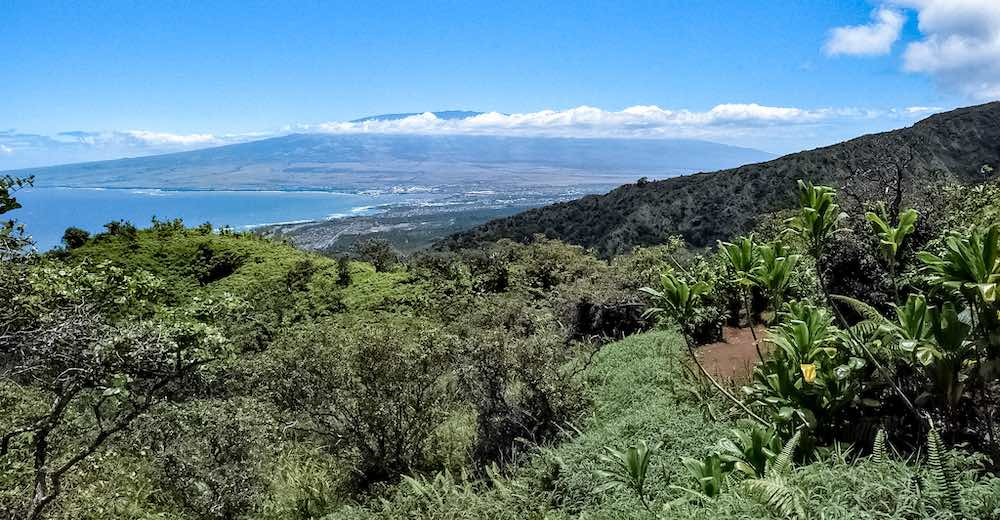 The Waihee Ridge Trail counts as one of the most breathtaking spots for hiking West Maui