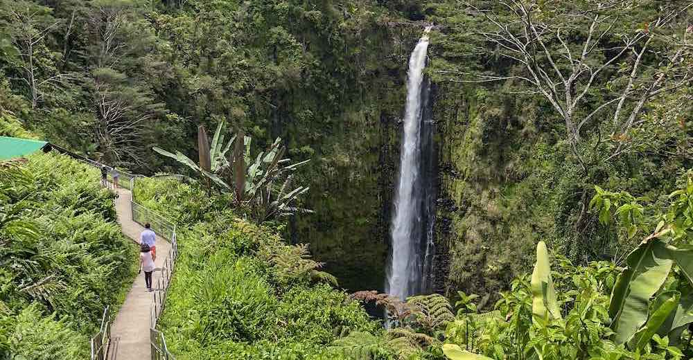 Including a visit to Akaka Falls State Park is a must when deciding what to do Big Island Hawaii