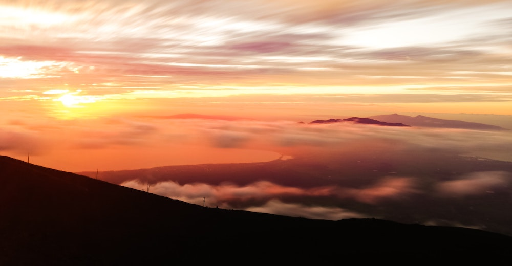 Seeing the sunrise at the Haleakala is the best thing to do in Maui