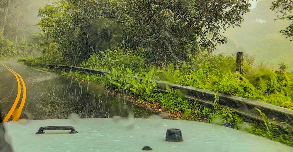Driving the Road to Hana is one of the top 10 things to do in Maui Hawaii