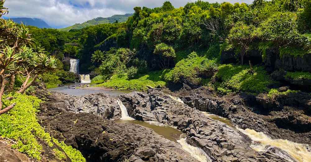 The Seven Sacred Pools is one of the best places to visit in Maui