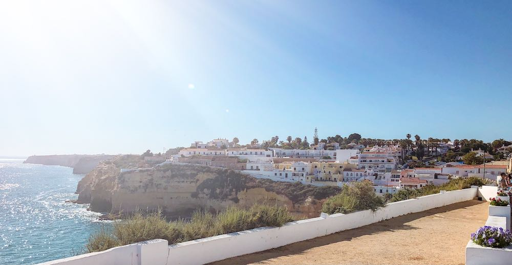 Sunny weather Carvoeiro Algarve
