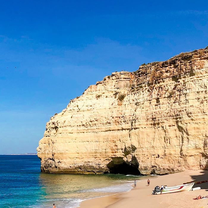 Vale Centeanes is one of the best beaches near Carvoeiro