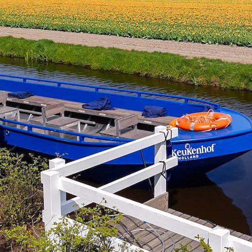 Keukenhof Gardens tour by boat