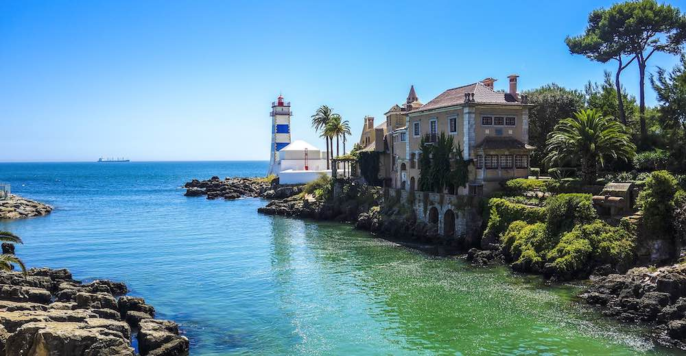 Visting the Santa Marta Lighthouse Museum is one of the best things to do in Cascais Portugal