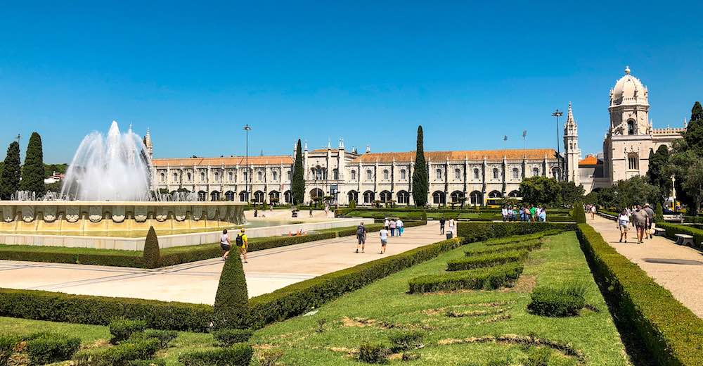 One of our travel tips is a day trip from Cascais to Belém