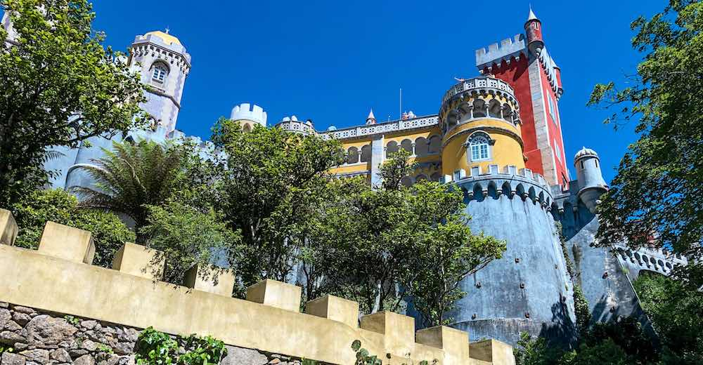 One of the best Cascais things to do is touring the Sintra palaces