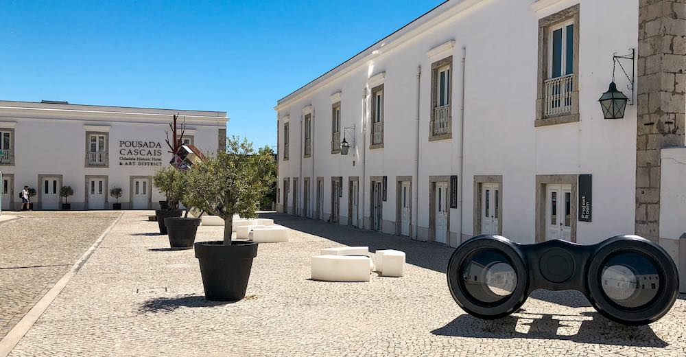 A visit to the Art district is one of the top things to do in Cascais Portugal plus it's where you'll find a luxurious Cascais hotel