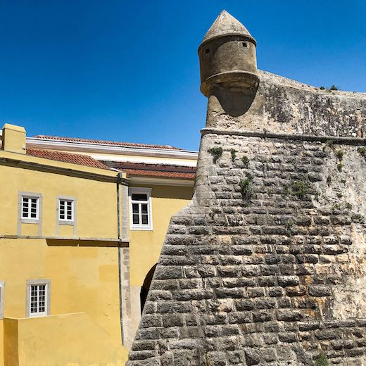 The citadel is one of the most important places to see in Cascais Portugal