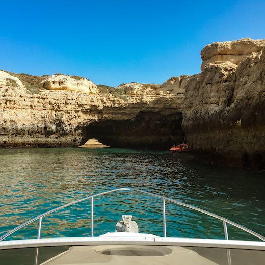 Sea cave Portugal