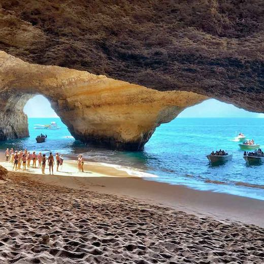 Combine your visit to the Vicentina Coast with a boat trip to the Benagil Cave