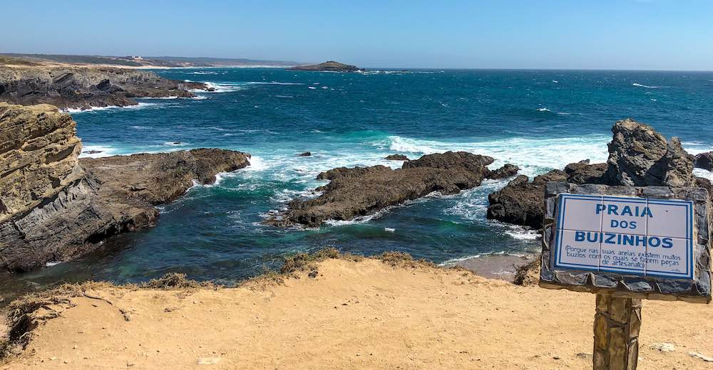 Porto Covo is the starting point for the Fishermen's trail of the Rota Vicentina
