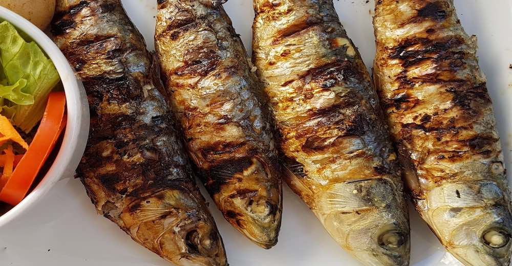 Grilled fish is one of the most popular food items on the Portuguese menu