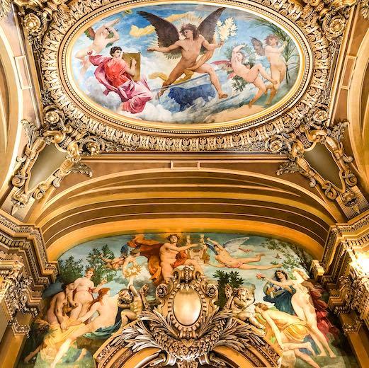 Mural at the Paris Opera House