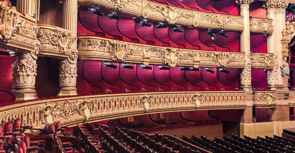 Paris Opera House Phantom of the Opera auditorium