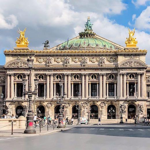 Exterior of Parisian Opera Garnier