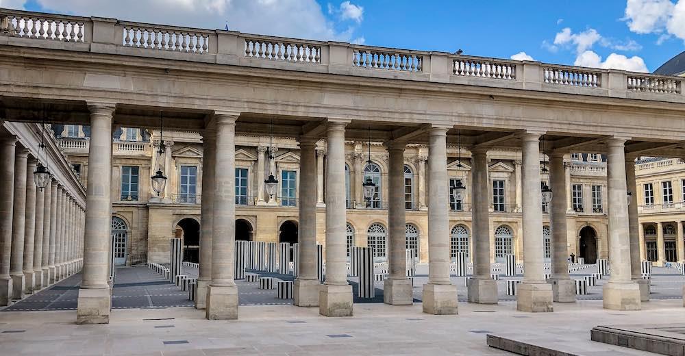 Palais-Royal in Paris