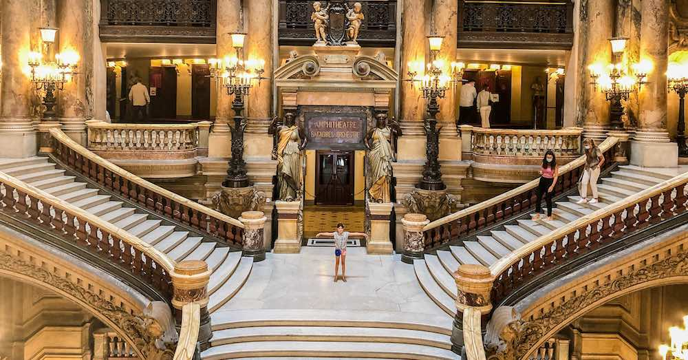 Grand Staircase at the Paris Opera House