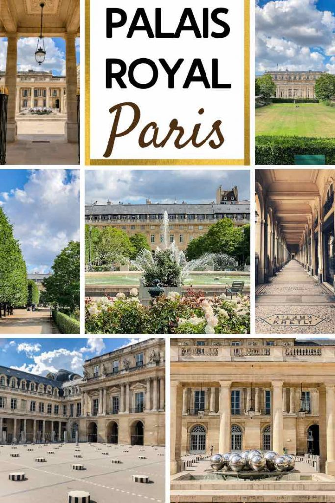Impressions from the Palais Royal in Paris
