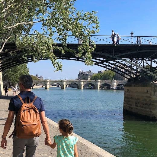 Pont des Arts without love locks