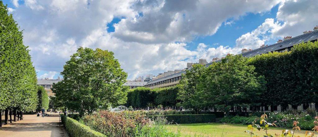 Jardin Palais Royal Paris