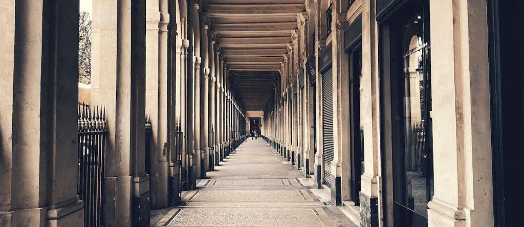 Arcades of Le Palais Royal Paris