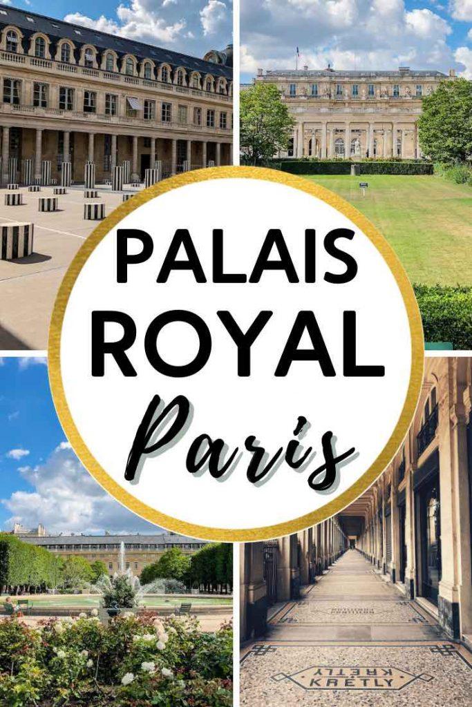 Impressions from the Jardin du Palais Royal Garden
