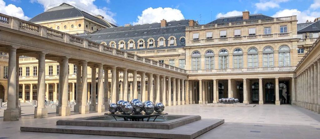 Galerie d'Orléans in the Royal Palace France