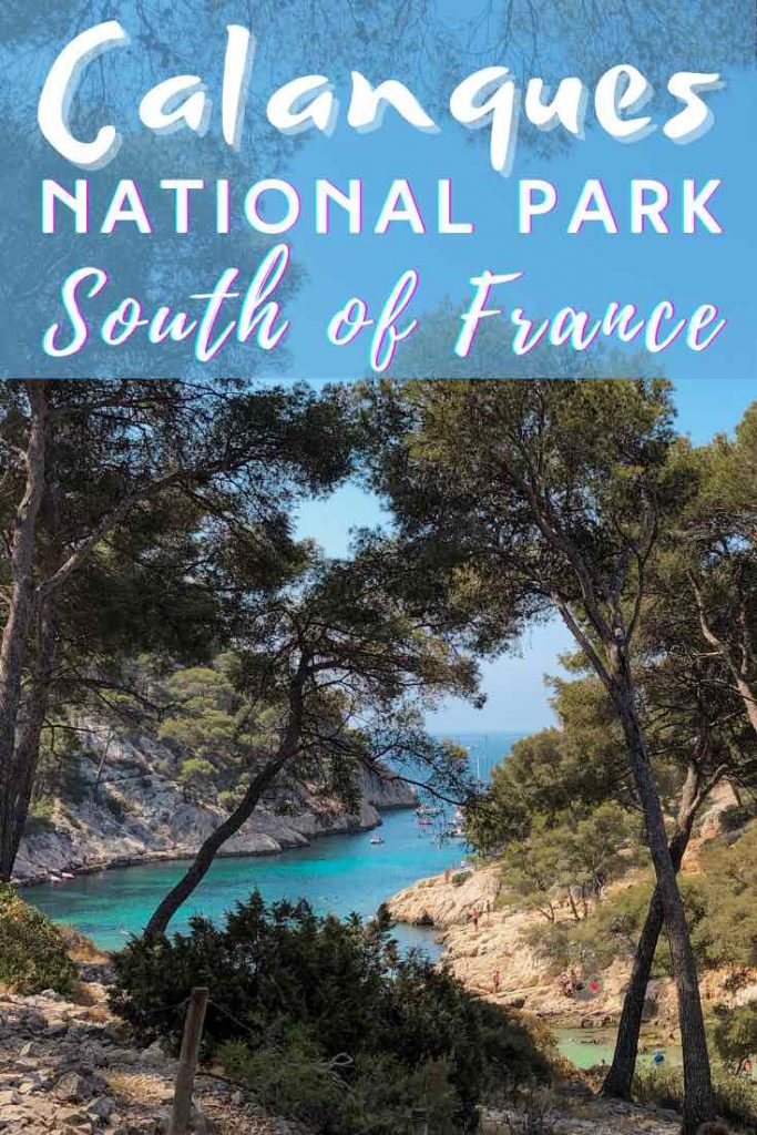 Calanques National Park from Cassis
