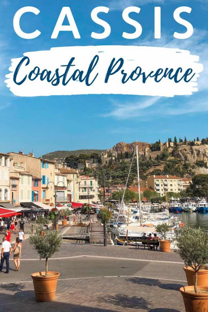 Harbour views in Cassis