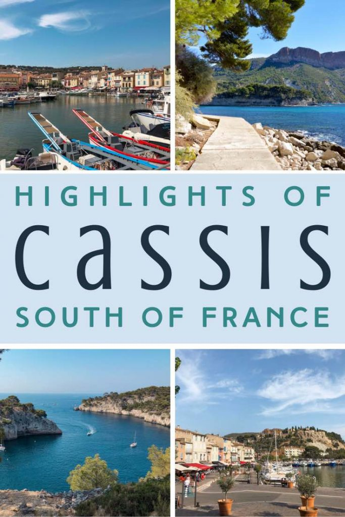 Cassis in the South of France with its picture-perfect harbour and scenic hiking trails