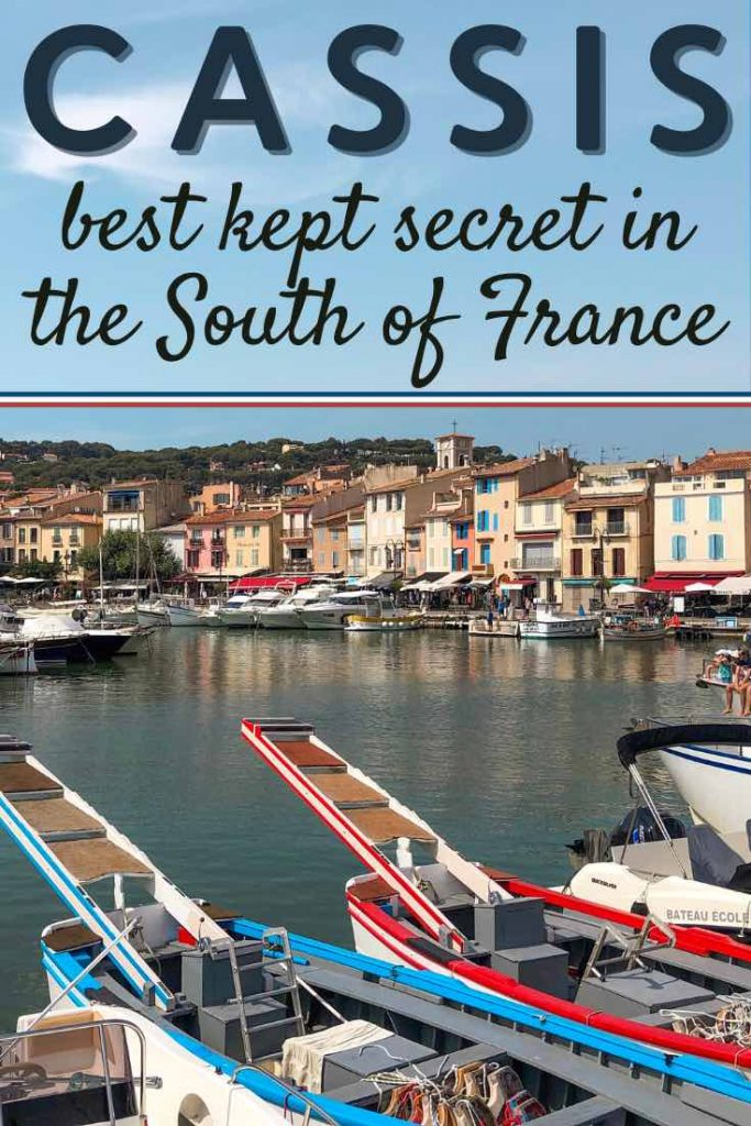 Picturesque harbour of Cassis in the South of France