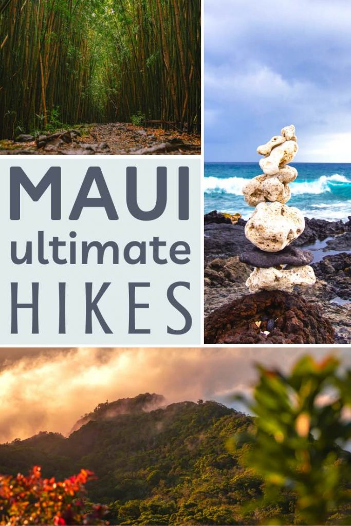 Mountain, volcano and waterfall hikes on Maui