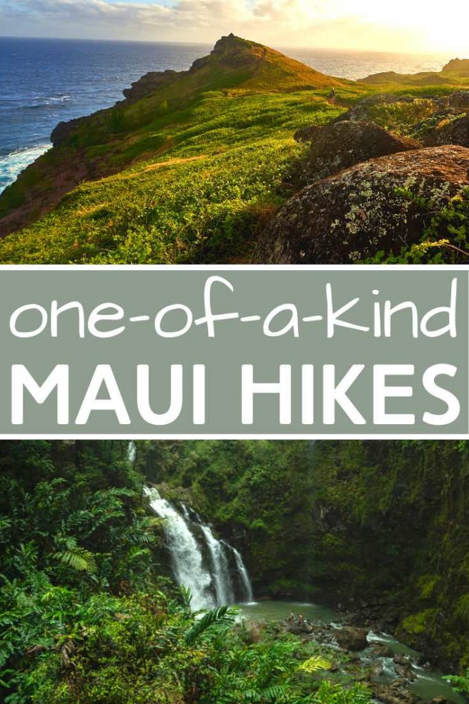 Mountain and waterfall hikes in Maui