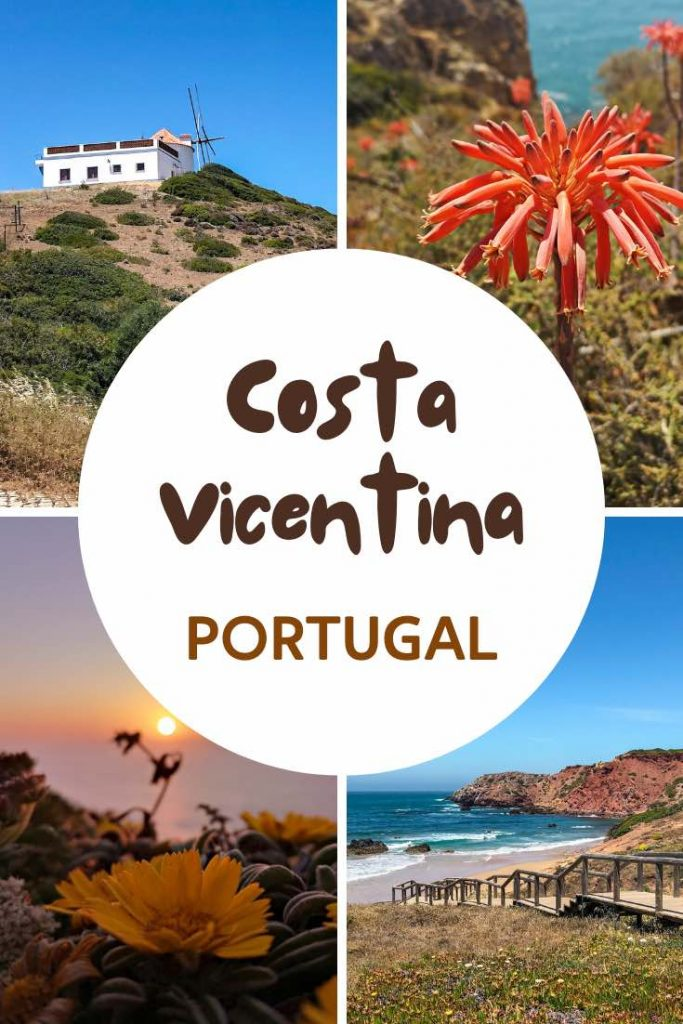 Costa Vicentina beaches and wildflowers