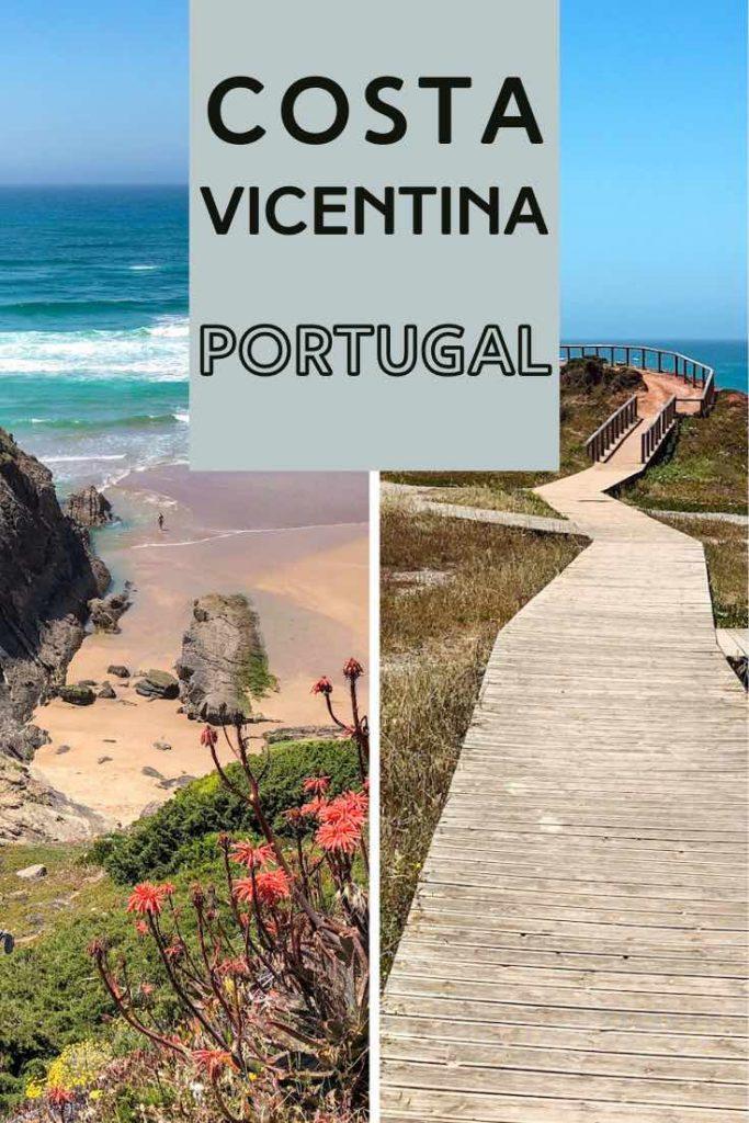 Costa Vicentina boardwalk and beach