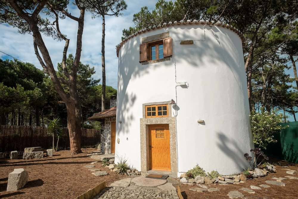 This historic windmill is one of the most unique vacation rentals in Portugal