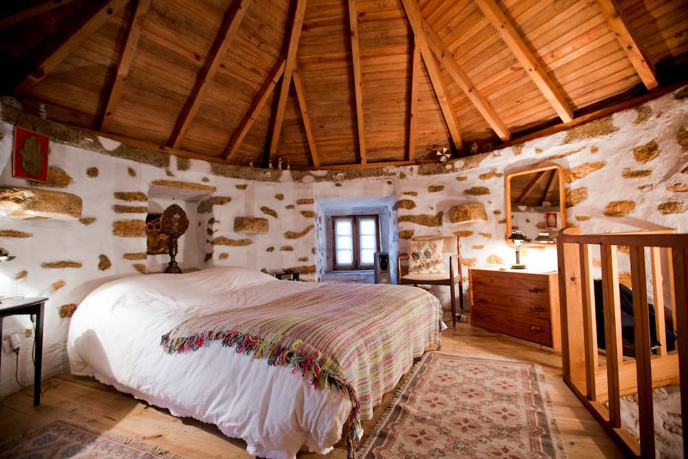 Authentic windmill with rustic interior  sleeps 4 persons and is the perfect vacation rental for a family holiday