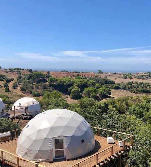 These dreamy domes are some of the most unique holiday rentals Portugal