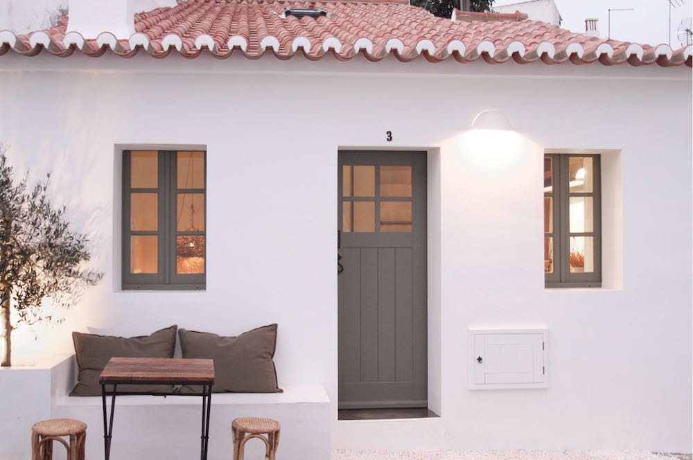 One of the most enchanting white-washed Algarve Portugal vacation rentals