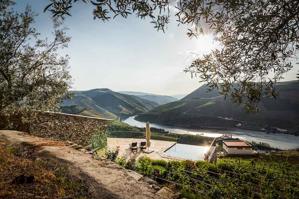 Views from a Douro Valley house rental Portugal